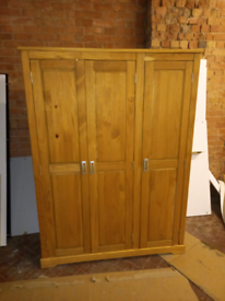 Large 3 door Wardrobe only £125. CLOSING DOWN SALE. Furniture Supersto
