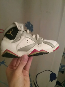 Moving  Sale Jordan 7s Size 6 Children