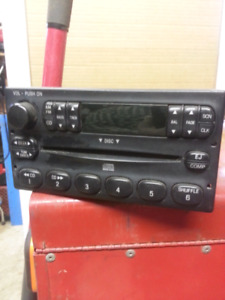 Ford and kenwood am/fm stereo cd players.