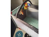 ***travel cot** REDUCED PRICE**