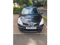 Renault Clio 1.2, petrol. Ideal first car.