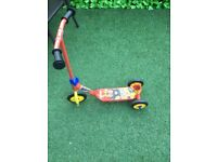 Fireman Sam scooter only £5