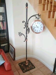 Clock Planter Stand
