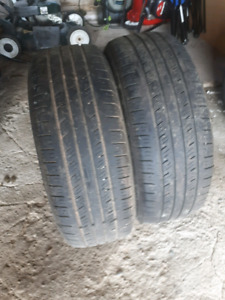 Two pairs of 205/55/16 2 tires like NEW