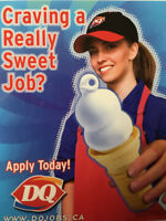 DQ Chill Staff Positions