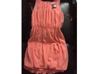 Atmosphere peach dress size 16 new with tags