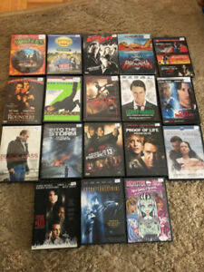 DVD's lot of 18 movies