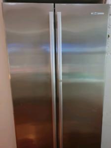 Westinghouse side by side fridge freezer.