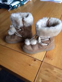 Girls UGG style boots