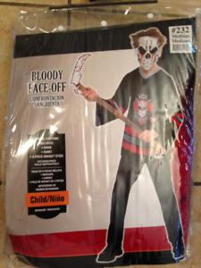 Children's Bloody Faceoff Costume