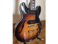 Gibson ES-390 (2014) with P90s & Hard Case - Incredibly Rare - As New Condition - Can Deliver!