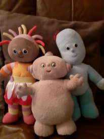 Children's night garden teddys