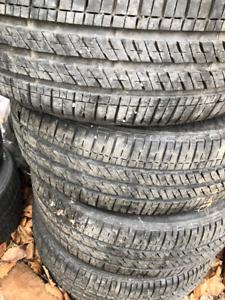 4 all-season tires on rims