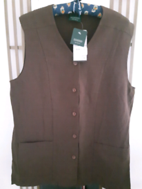 NEW Linen Top size 14 - only £ 0.50