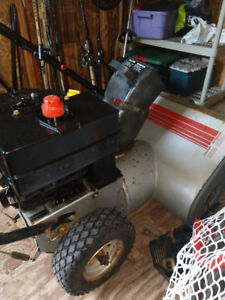 "CRAFTMAN 6-HP 25"" SNOWBLOWER $250.00 519-502-1370"