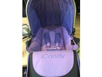 iCandy Peach 2 LOWER Seat ONLY (blossom seat)