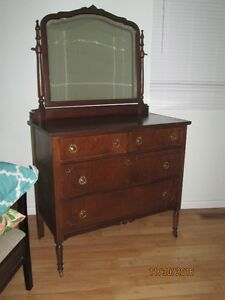 7 piece Original Antique Bedroom Suite