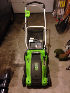 Lawn Mower, Electric Trimmer, and more