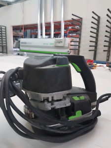 Kit Festool plaqueuse de champ + ventouse + compresseur + extra.