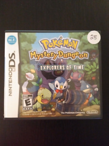 Pokemon Mystery Dungeon Explorers of Time for Nintendo DS