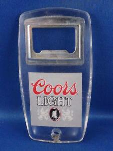 COORS LIGHT SILVER BULLET BEER BOTTLE CAP OPENER TWIST OFF