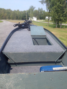 14' Aluminum Bass Boat. Want gone this weekend. Make offer