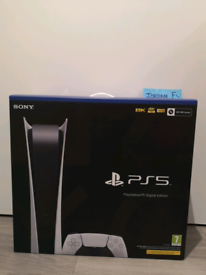 Ps5 digital, brand new and sealed