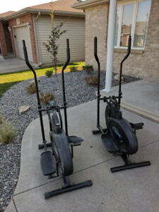 2 OrbiTrek Ellipticals