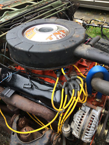 Dodge, plymouth 440 motor