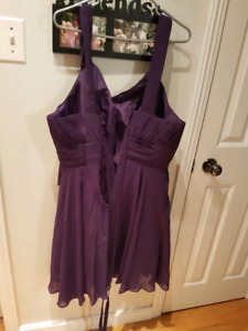 Brand new  never  wore purple  dress
