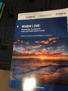 WHEN I DIE: FINANCIAL PLANNING FOR LIFE AND DEATH 2019
