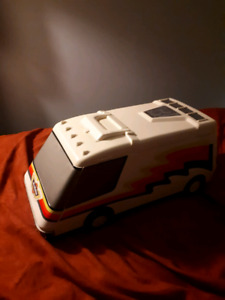1991 Micro Machine Carry Case W Several 80s Vehicles