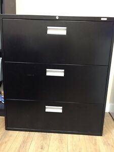 3 drawer office filing cabinet