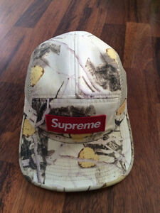Supreme Real Tree Camo Five Pannel Cap Hat