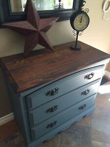 Petite Pine Dresser (SOLD PPU)~Redone in Cottage Style