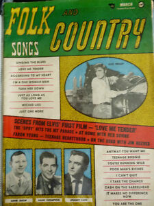FOLK AND COUNTRY SONGS MAGAZINE