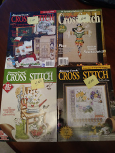 Cross Stitch Magazines/kit Lot 2