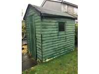 Free hut garden shed for someone