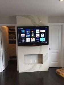 LED Smart 4K Tv ,Installatin,SONOS,Apple