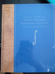 Single Variable Essential Calculus Early Trans. James Stewart