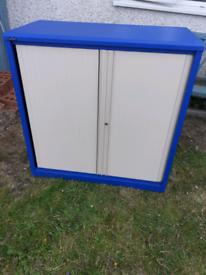 Silverline metal storage cupboard