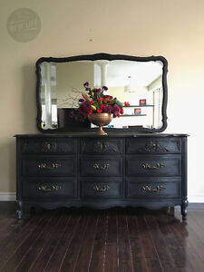 Gorgeous French Provincial Dresser with Mirror