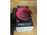 Garmin vivosmart with heart rate monitor
