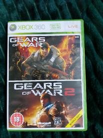 XBOX 360 Gears of War 1&2 bundle