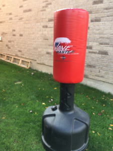portable freestanding punching/training bag