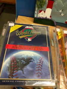 Old world series programs