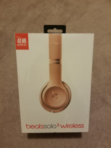 Brand New Sealed - Beats Dr Dre Solo3 Wireless Headphones - Gold
