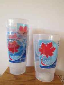 FIFA, 2007 collectible cups...NEW/UNUSED