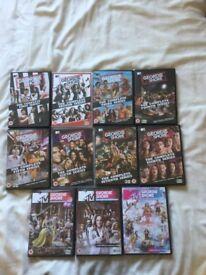 Geordie Shore DVDs £3 each