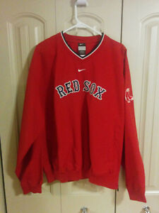 Nike Boston Red Sox Pullover Jacket- Excellent Condition